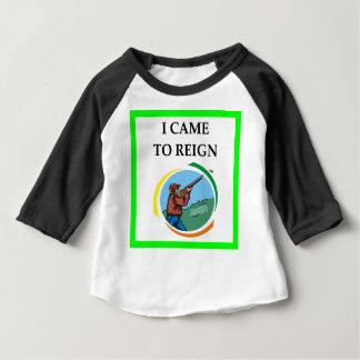 Camiseta Para Bebê tiro de armadilha