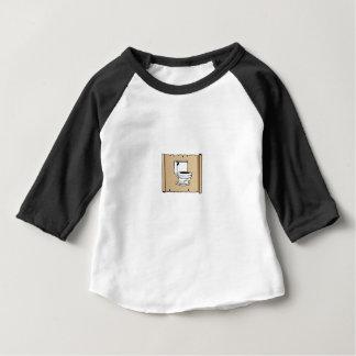 Camiseta Para Bebê toalete no rolo