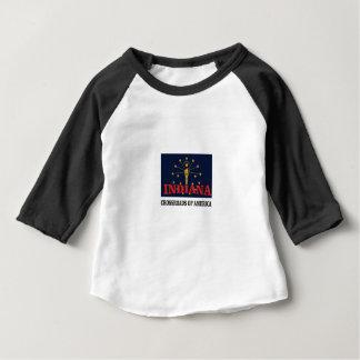 Camiseta Para Bebê Tocha de Indiana