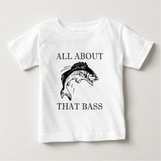 Camiseta Para Bebê Toda sobre essa chalaça do barco do pescador da