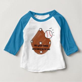 Camiseta Para Bebê Toda sua base