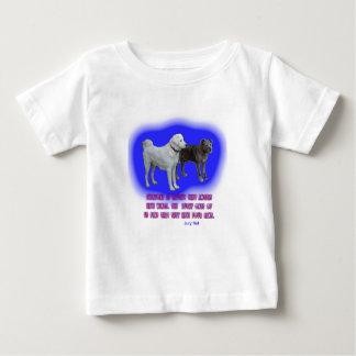 Camiseta Para Bebê Todos é ensinado que os anjos têm as asas