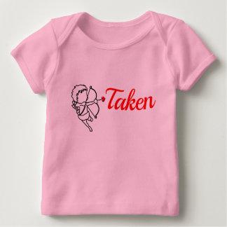 Camiseta Para Bebê Tomado pelo amor - Cupido