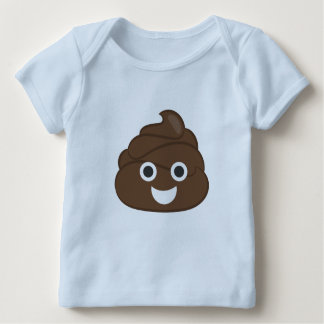 Camiseta Para Bebê Tombadilho louco Emoji