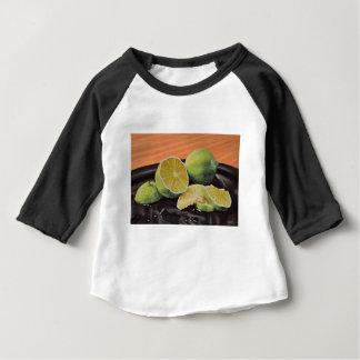 Camiseta Para Bebê Tónico e limão
