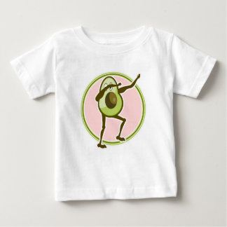 Camiseta Para Bebê Toque ligeiro do abacate