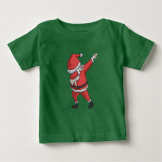 Camiseta Para Bebê Toque ligeiro engraçado do Natal do t-shirt de