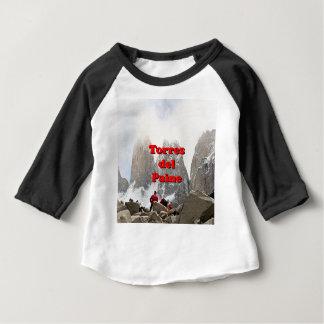 Camiseta Para Bebê Torres del Paine: O Chile
