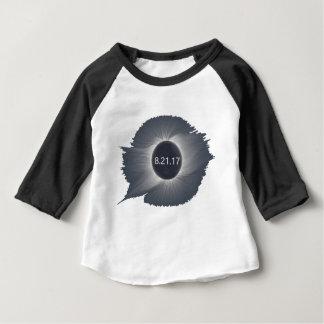 Camiseta Para Bebê Total-Solar-Eclipse6