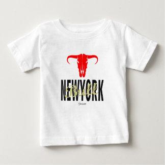 Camiseta Para Bebê Touros da Nova Iorque de NYC por VIMAGO
