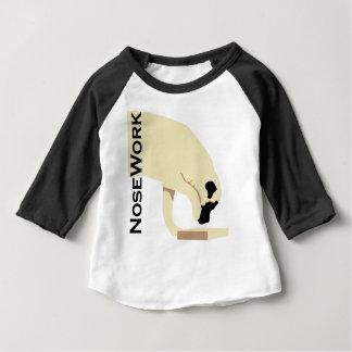 Camiseta Para Bebê Trabalho de Mastiffs_Nose
