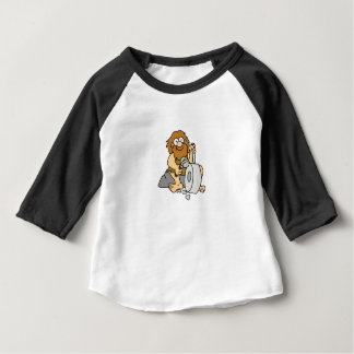Camiseta Para Bebê trabalhos adiantados do homem