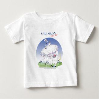Camiseta Para Bebê Trabalhos em equipe da grelha, fernandes tony