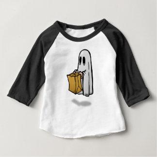 Camiseta Para Bebê Traje da doçura ou travessura