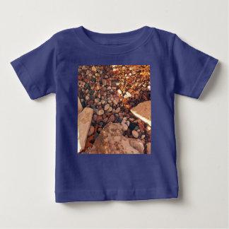 Camiseta Para Bebê Trajeto dos seixos