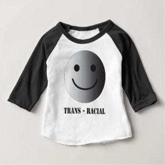 Camiseta Para Bebê Transporte-racial