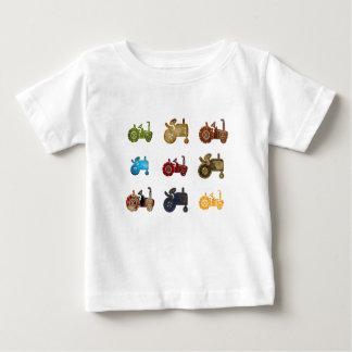 Camiseta Para Bebê Tratores