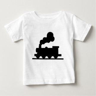 Camiseta Para Bebê Trem de estrada de ferro