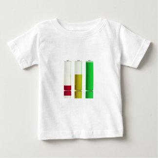 Camiseta Para Bebê Três baterias