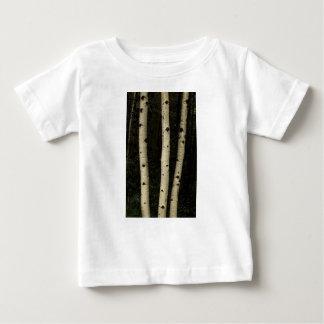 Camiseta Para Bebê Três colunas da floresta