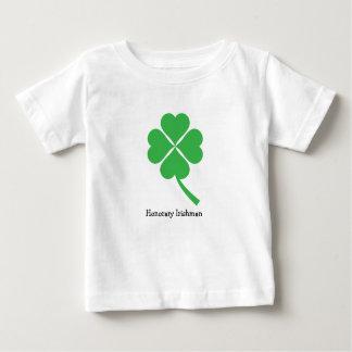 Camiseta Para Bebê trevo da Quatro-folha
