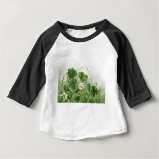 Camiseta Para Bebê Trevo de quatro folhas