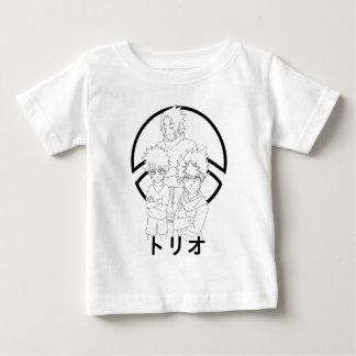 Camiseta Para Bebê Triade
