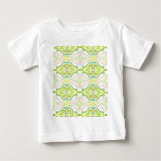 Camiseta Para Bebê Tribal Pastel do limão brilhante vibrante do limão