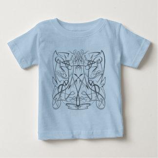 Camiseta Para Bebê Tribo das riscas