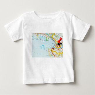 Camiseta Para Bebê Trieste, Italia