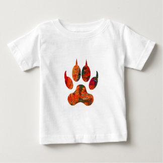 Camiseta Para Bebê Trilha do lobo