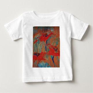 Camiseta Para Bebê Trindade de papoilas de Califórnia