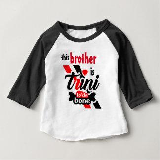 Camiseta Para Bebê Trini 2 de osso (irmão)