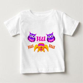 Camiseta Para Bebê Triolium - partido da coruja