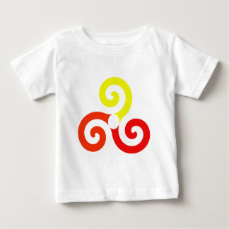 Camiseta Para Bebê Triskélion