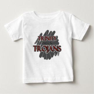 Camiseta Para Bebê Trojan do segundo grau da trindade - Euless, TX