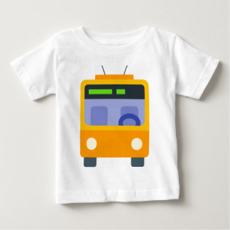 Camiseta Para Bebê Trolleybus