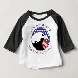 Camiseta Para Bebê Trunfo: O fim de um erro