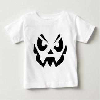 Camiseta Para Bebê Tshirt assustador do Dia das Bruxas