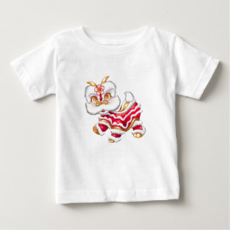 Camiseta Para Bebê Tshirt chinês do bebê do dragão do ano novo