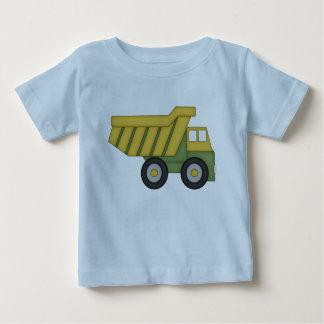 Camiseta Para Bebê Tshirt do camião basculante para miúdos
