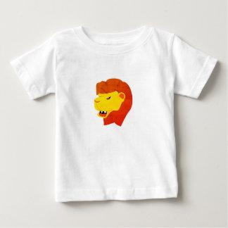 Camiseta Para Bebê Tshirt do leão rujir