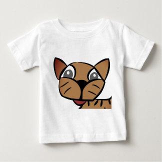 Camiseta Para Bebê Tshirt engraçado do bebê do gato