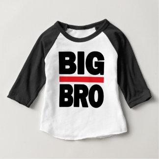 Camiseta Para Bebê Tshirt grande de Bro