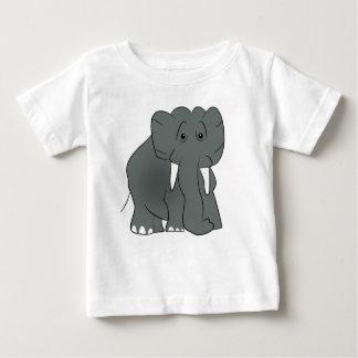 Camiseta Para Bebê TShirt grande do elefante