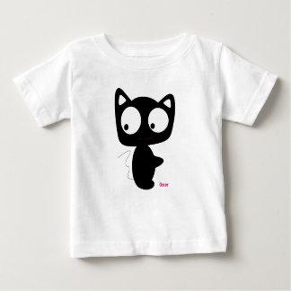 Camiseta Para Bebê TShirt infantil do gato do bebê de Oscar, presente