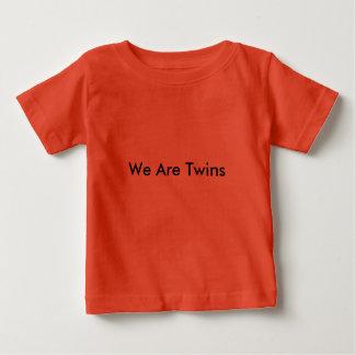 Camiseta Para Bebê Tshirt para GÊMEOS