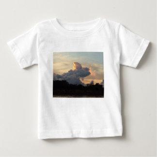 Camiseta Para Bebê Tubarão da nuvem