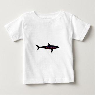 Camiseta Para Bebê Tubarão de Cancun México