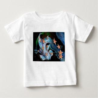 Camiseta Para Bebê Tubarão-Hammerhead